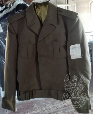 Bluza olimpijka ofic. wojsk lądowych