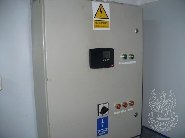 Wyposażenie węzła cieplnego – pakiet zawierający 12 poz. asort. (wg oddzielnego wykazu), w tym m.in.: pompa UPE 40-120, pompa 25 PWR 80, wymienniki JAD 6/50, regulatory itp.