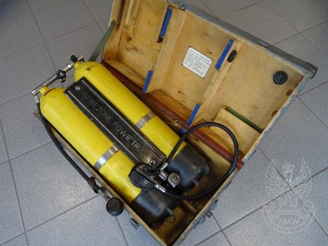Aparat nurkowy P22/UAN-82