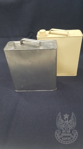 Bańka blaszana na olej 5L