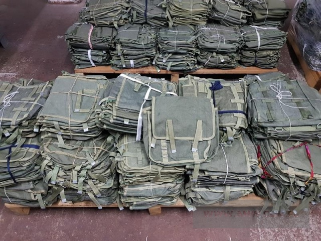 Torba na wyposażenie - pakiet zawierający 250 szt.