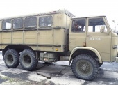 Autobus sztabowy AS-2 na samochodzie STAR 266