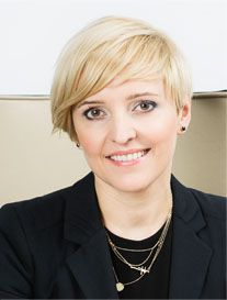 Vice President Ilona Kowalska